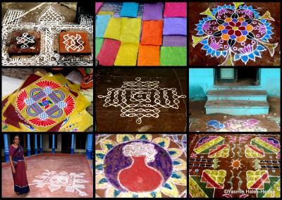 Domestic Kolam Pongol Festival Chettinad YHH 2006