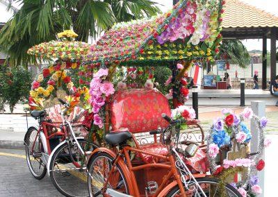 Bicycle Rickshaw, Melacca, Malaysia 2010-1