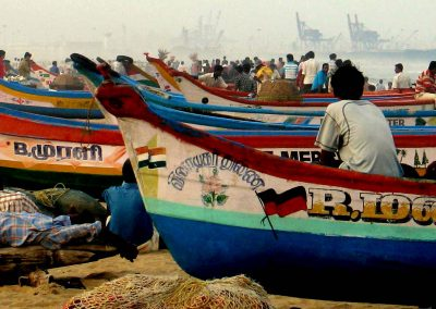 Fisherman, Chennai Beach, South India