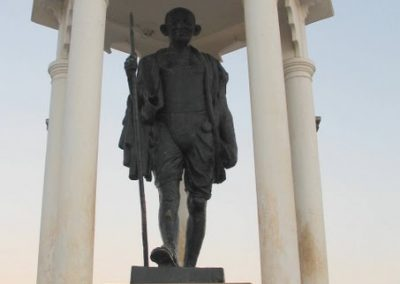 Gandhi Statue, Pondicherry, Tamil Nadu, India