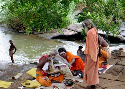 Sadhu News of the World, Pothigai, Tamil Nadu, South India